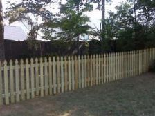4FT French Gothic Fence Spartanburg SC