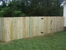6 Ft Privacy Wood Fence Spartanburg SC
