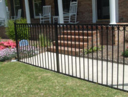 Mathews NC Aluminum Fence