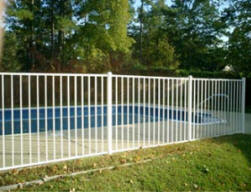 Rock Hill SC Aluminum Fence