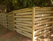 6FT Basket Weave Fence Spartanburg SC