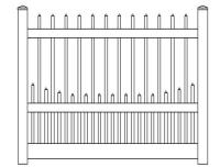 Vinyl Picket Fence Prices Fencing