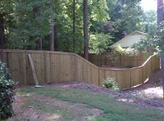 6FT Solid Fence Gastonia NC