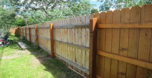 Fence Masters Unlimited Fence Staining Summerville Sc